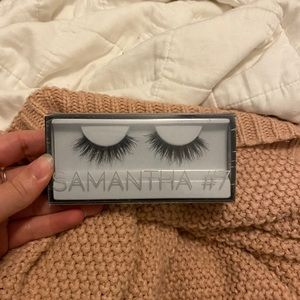 huda beauty samantha lashes